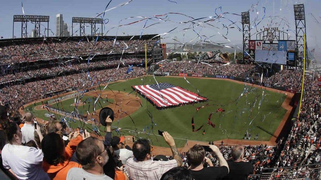 Estádio de beisebol em San Francisco