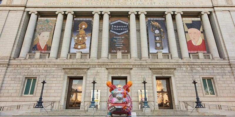 Informações sobre o museu Asian Art Museum of San Francisco