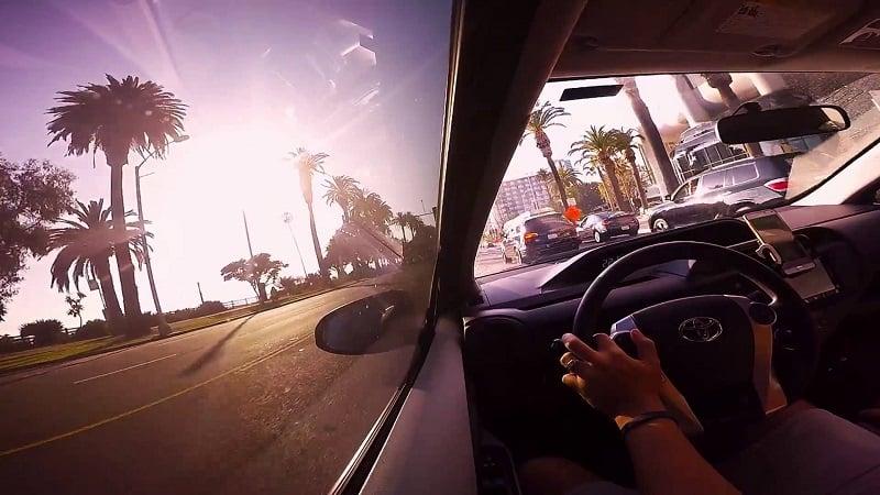 Serviço de aluguel de carro para uma viagem de Las Vegas à Santa Mônica