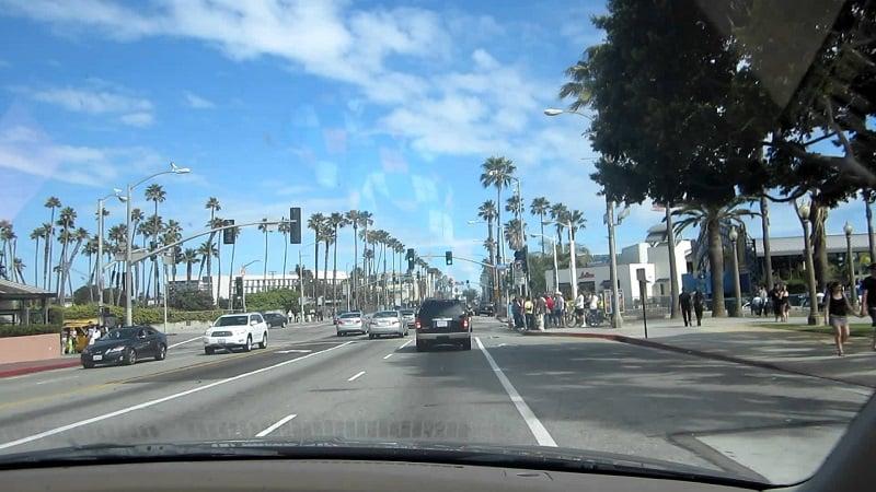 Viagem de carro de Santa Mônica à Monterey