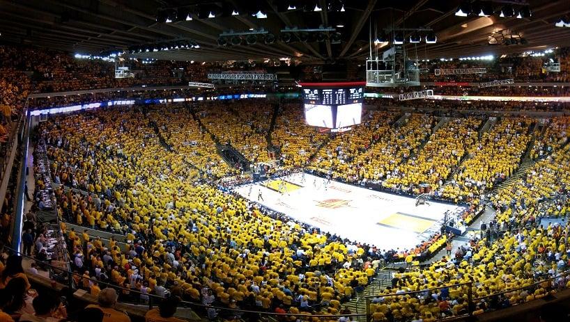 Estádio para assistir o Golden State Warriors em San Francisco
