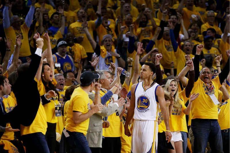 Jogos do Golden State Warriors e NBA em San Francisco