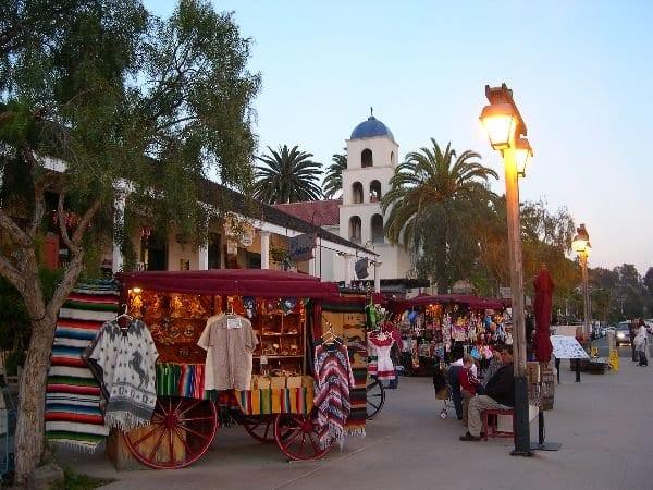 Passeio por Old Town San Diego State Historic Park