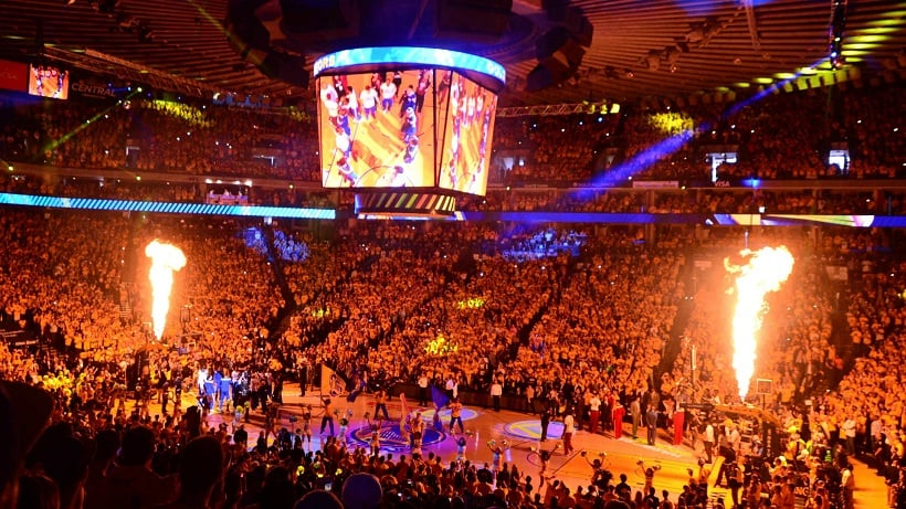 Oracle Arena para jogos em San Francisco