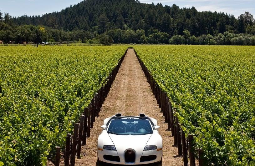 Aluguel de carro em Napa Valley