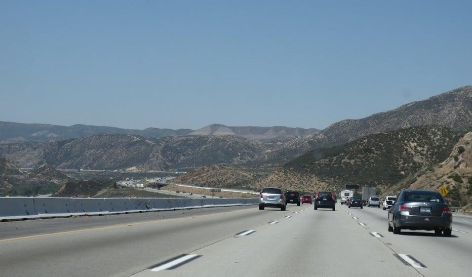 Dirigir em Big Bear Mountain e na Califórnia