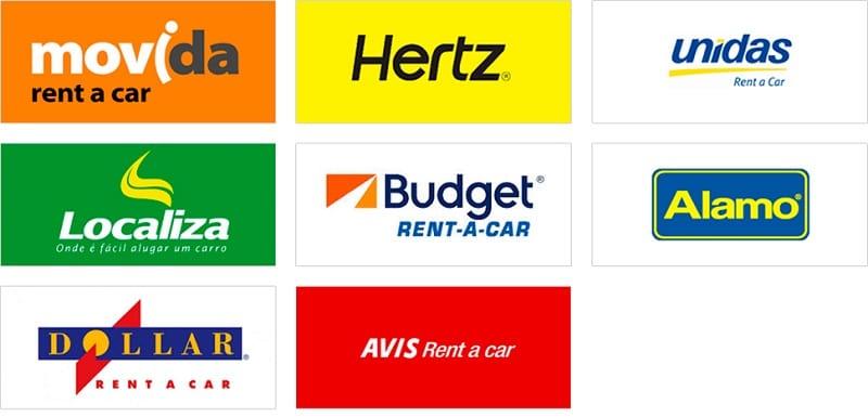 Empresas de aluguel de carro em Pasadena
