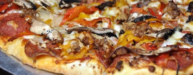 Restaurante Base Camp Pizza Co em South Lake Tahoe