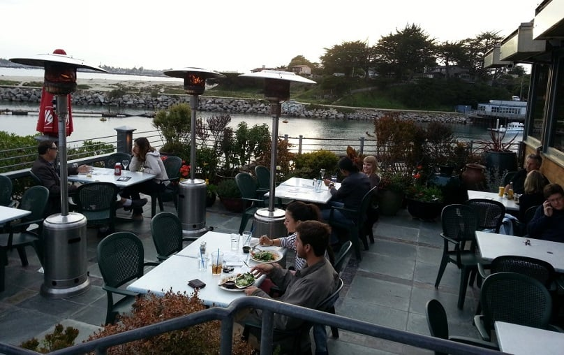 Restaurante Crow's Nest Restaurant em Santa Cruz