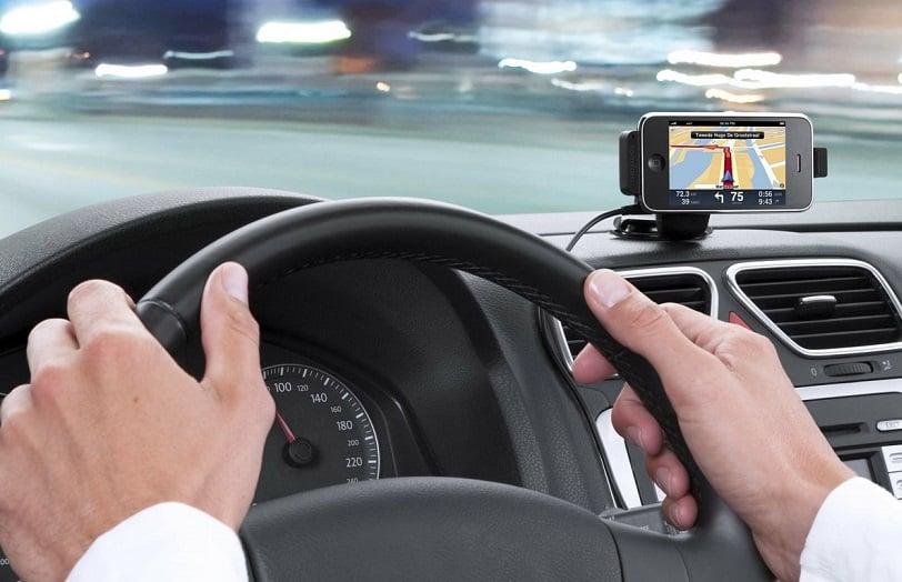 GPS de carro em Las Vegas