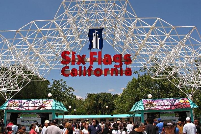 Lugares para comprar os ingressos do Six Flags Califórnia