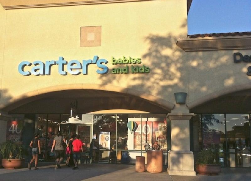 Loja Carte's para o enxoval do bebe em Los Angeles