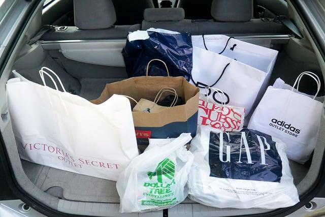 Compras em Sacramento e na Califórnia