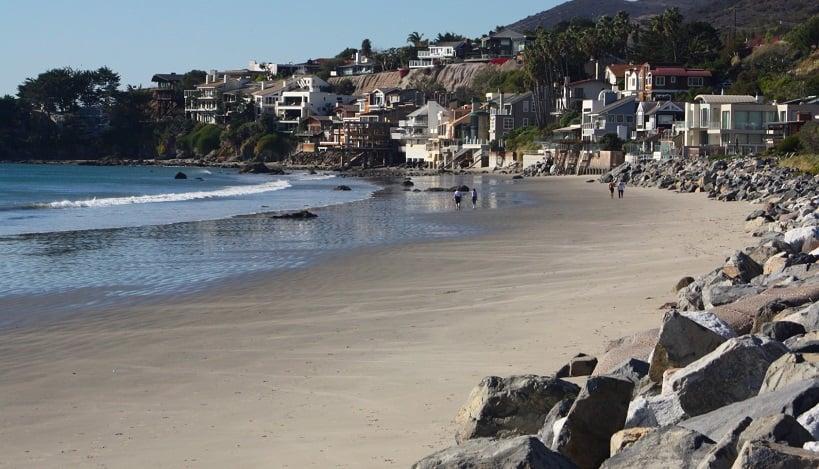Praia Malibu Beach em Malibu