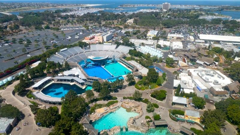 Parque Sea World na Califórnia