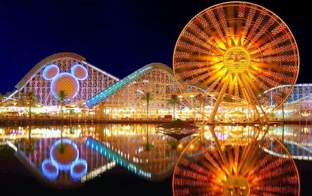 Parques de diversões da Califórnia