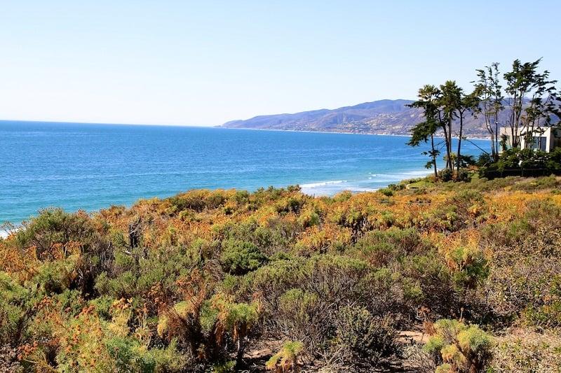 Praia Point Dume em Malibu