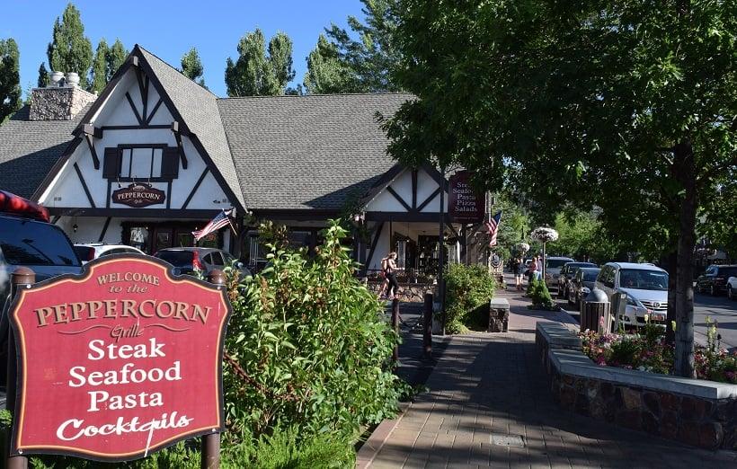 Restaurante Peppercorn Grille em Big Bear Mountain