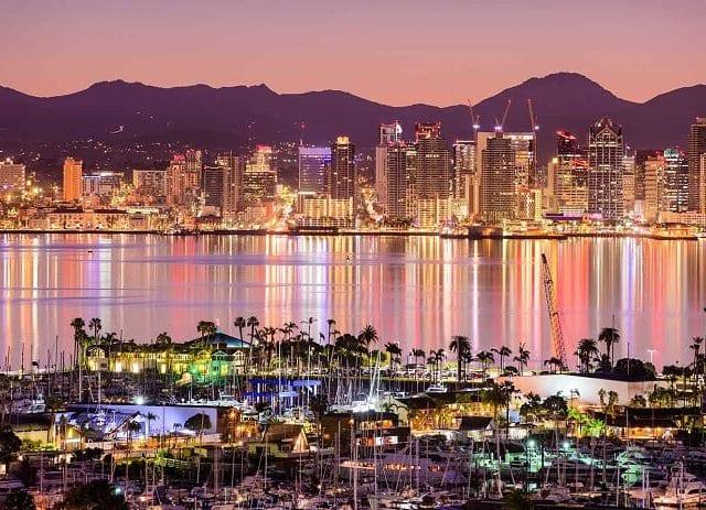 San Diego em dezembro