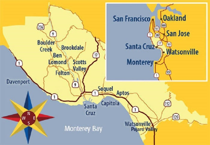 Onde ficar em Santa Cruz: Melhores regiões
