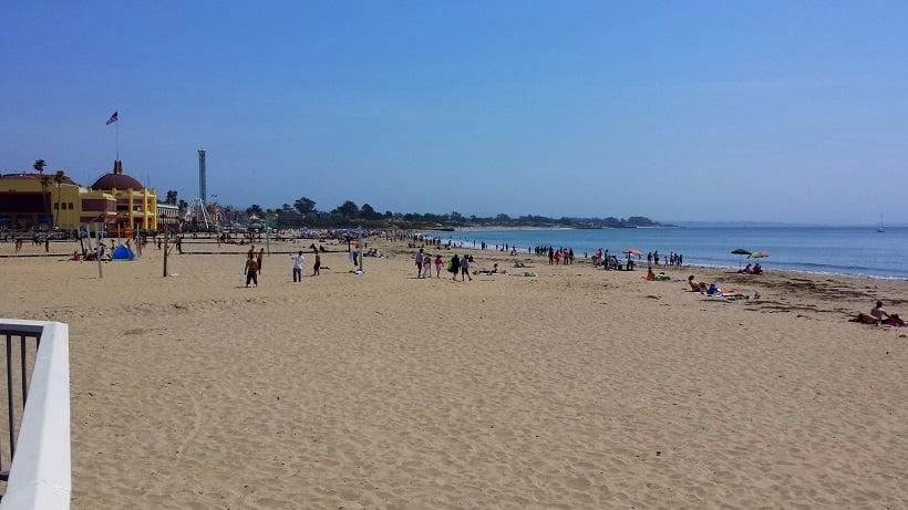 Praia Santa Cruz Main Beach em Santa Cruz