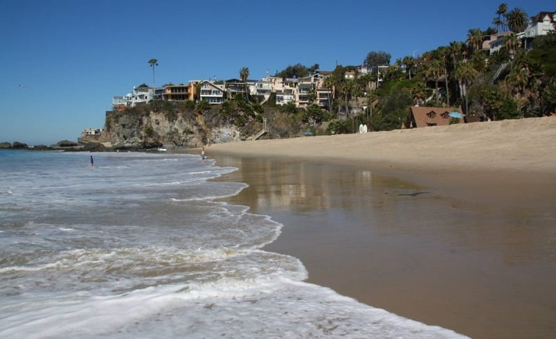 Praia Thousands Steps Beach em Laguna Beach