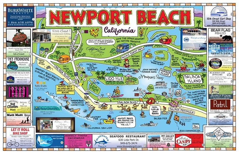 Tempo mínimo ideal para ficar em Newport Beach