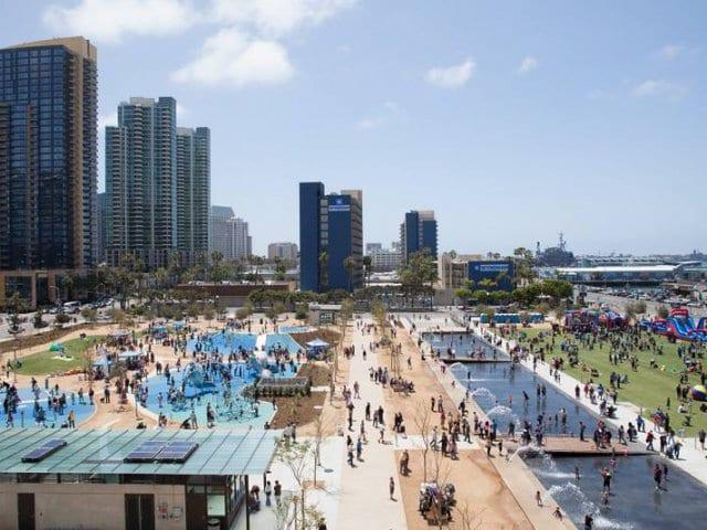 San Diego em julho