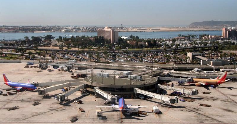 Formas de ir do aeroporto de San Diego para o centro