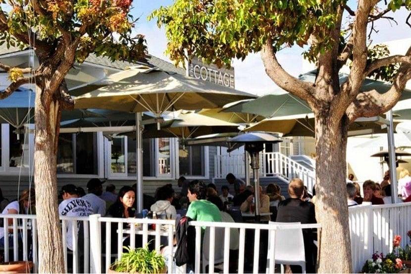 Restaurante The Cottage La Jolla em San Diego