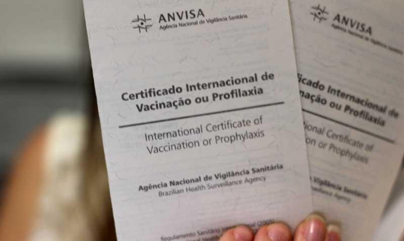 Certificado de vacinação internacional para entrar em San Diego