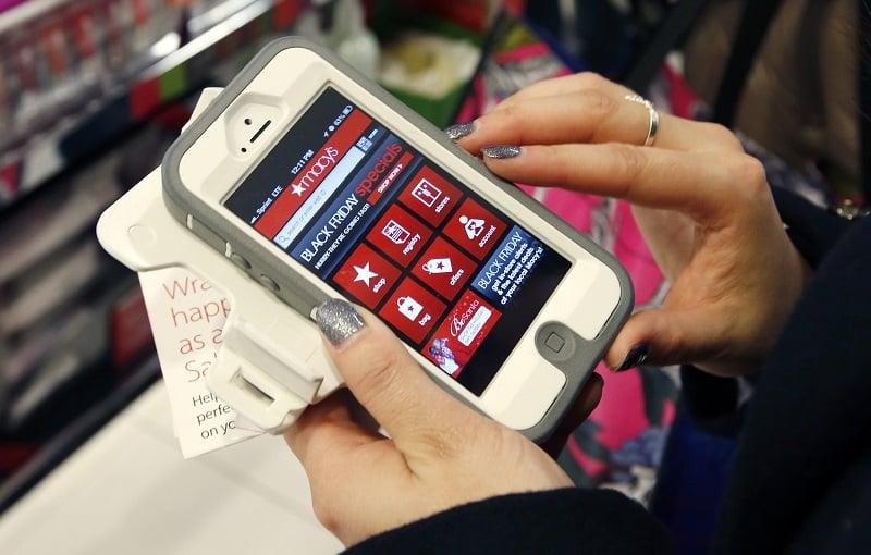 Dica do celular nas compras em San Diego