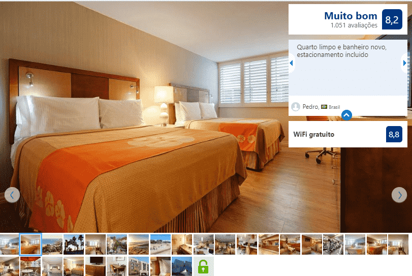 Gateway Hotel para ficar em Santa Mônica