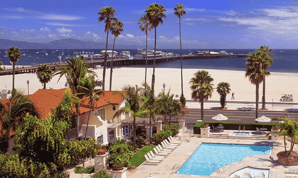 Hotel Harbor House Inn em Santa Bárbara
