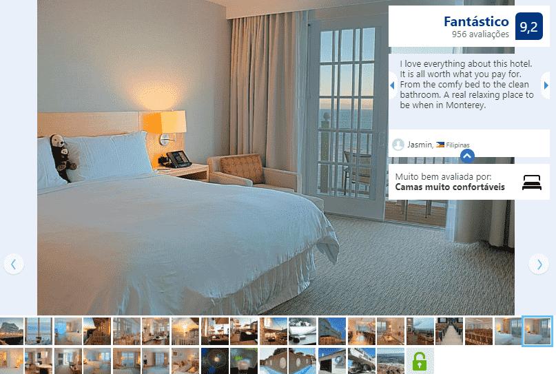Hotel InterCont Clement Monterey para ficar em Monterey