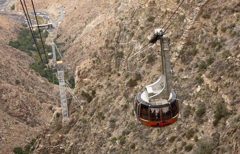 Passeio pelo Tram Aéreo em Palm Springs