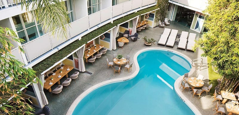 Hotel Avalon Bevery Hills