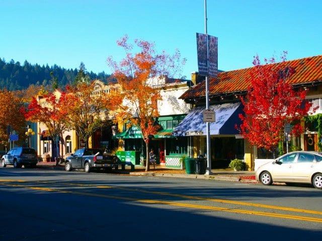 Pontos turísticos em Napa Valley