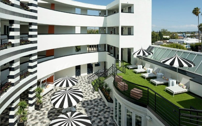 Hotel Carlyle Inn em Beverly Hills