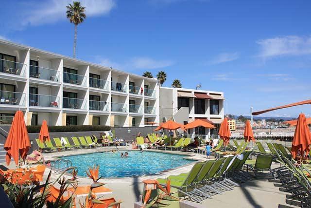 Hotel Carousel Beach Inn em Santa Cruz