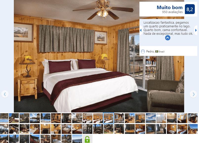 Hotel Vintage Lakeside Inn para ficar em Big Bear Lake