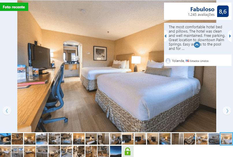 Best Western Plus Las Brisas Hotel para ficar em Palm Springs