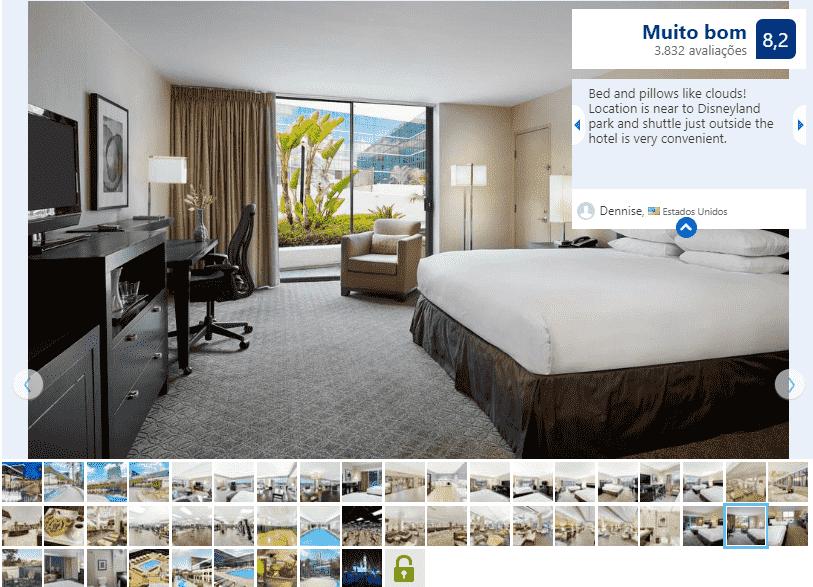 Hotel Hilton Anaheim para ficar em Anaheim