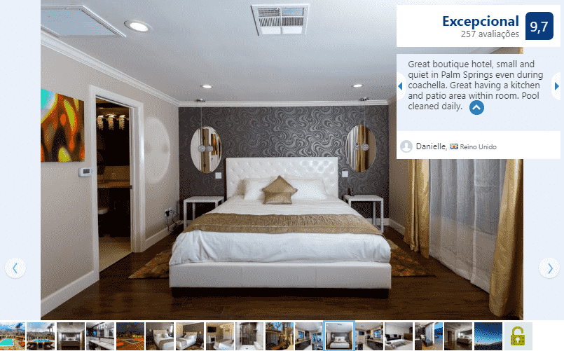 Little Paradise Hotel para ficar em Palm Springs