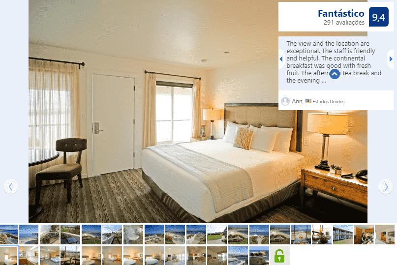 Hotel Sea & Sand Inn para ficar em Santa Cruz