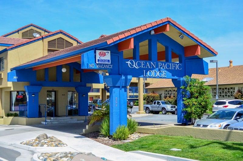 Hotel Ocean Pacific Lodge em Santa Cruz