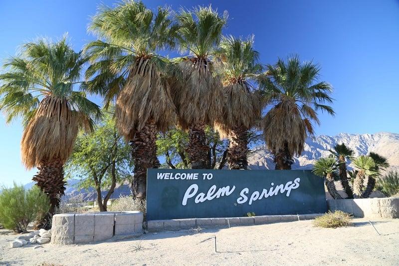 Pontos turísticos em Palm Springs