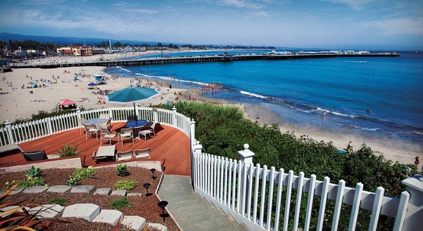 Hotel Sea & Sand Inn em Santa Cruz
