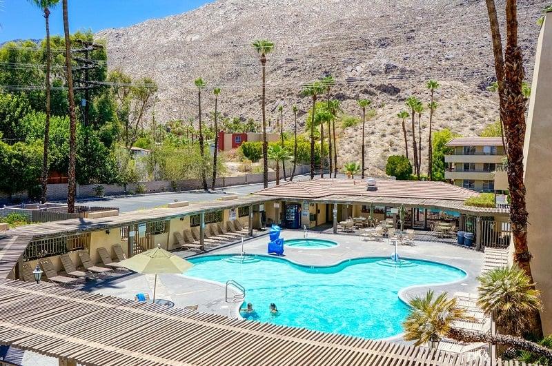 Hotel Vagabond Inn Palm Springs em Palm Springs