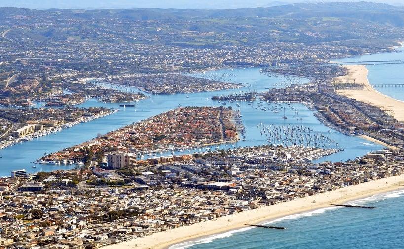 Pontos turísticos em Newport Beach